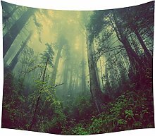 YIERJIU Plante Nature Tapisserie Arbre de Vie