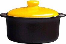 YILIAN Batterie de cuisine en céramique marmite