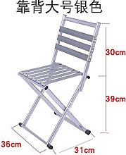 YINGGEXU Chaise pliante simple portable portable