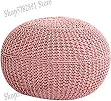 YINGGEXU Lazy Sofa Tabouret bas en tricot pour