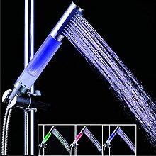 YINGGEXU Pommeau de douche à LED avec capteur de