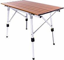 Yingm Table Pliante Extérieure Pratique Table