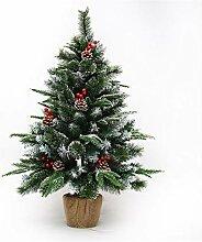 Yinin Sapin de Noël artificiel vert avec