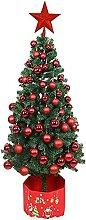 YIQQWS Sapin de Noël Artificiel avec lumières,