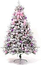 YIQQWS Sapin de Noël en pin Arbre de Noël en