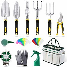 YISSVIC Outils de Jardinage 12 Pièces Outils de