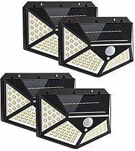 Yizhet Lampe Solaire Extérieur 4 Pack 100LED