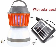 YJ-foryou Tueur Mosquito Lampe Solaire extérieure