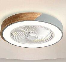 Yjdr Ventilateur De Plafond Lumineux De La Chambre