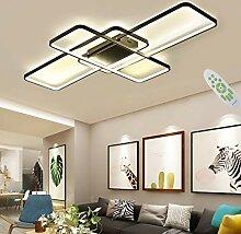 Ykdd Plafonnier LED rectangulaire, Lustre à 3