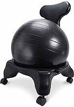 YLCJ Swiss Balance Ball Chair Ergonomic