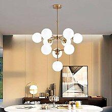 YMBLS Lampe, Lustre de Lampe Moléculaire de Boule