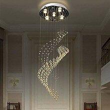 YMBLS Lampe, Lustre En Cristal Led Créatif Double