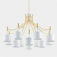 YMBLS Lampe, Lustres Décoratifs Fer Métal Salon