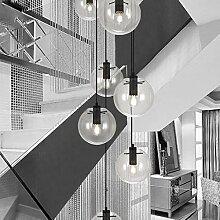 YMLSD Lustres, Escalier Lustre Moderne Minimaliste