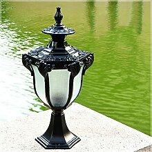 YMNLZ Lampe de Poteau Extérieur Lampadaire de