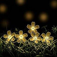 Yofundo Guirlande lumineuse solaire de Noël