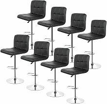 Yongqing - 8*tabourets de bar chaise fauteuil 6