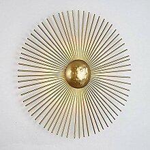 YONGYONGCHONG Applique murale dorée pour salon,