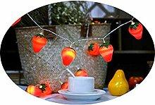 Yoohh Guirlande lumineuse en forme de fraises - 3