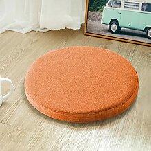 Yoole EU Galette de chaise ronde, 45 cm/50 cm,