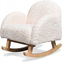 Youpi - mini fauteuil à bascule blanc