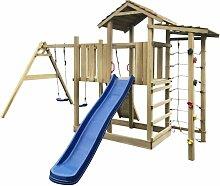 Youthup - Aire de jeu, échelle, toboggan,