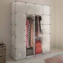 Youthup - Cabinet modulable avec 14 compartiments