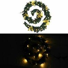 Youthup - Guirlande de Noël avec lumières LED