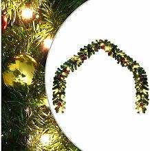 Youthup - Guirlande de Noël décorée avec boules