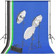 Youthup - Kit de studio photo avec toile de fond