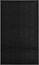 Youthup - Paillasson lavable Noir 90x150 cm