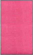 Youthup - Paillasson lavable Rose 90x150 cm