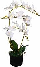 Youthup - Plante artificielle avec pot Orchidée