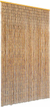 Youthup - Rideau de porte contre insectes Bambou