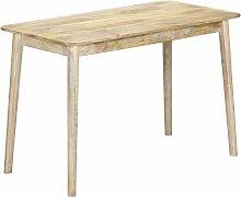 Youthup - Table de salle à manger 115x60x76 cm