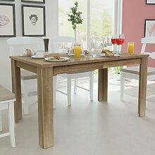 Youthup - Table de salle à manger 140 x 80 x 75