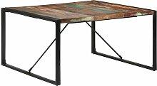 Youthup - Table de salle à manger 140x140x75 cm