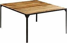 Youthup - Table de salle à manger 140x140x76 cm