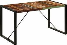 Youthup - Table de salle à manger 140x70x75cm