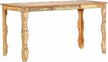 Youthup - Table de salle à manger 140x70x76cm