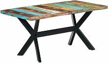 Youthup - Table de salle à manger 160x80x75cm