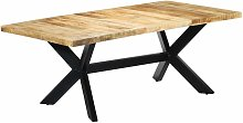 Youthup - Table de salle à manger 200x100x75 cm
