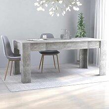 Youthup - Table de salle à manger Gris béton
