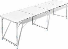 Youthup - Table pliante de camping en aluminium