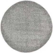 Youthup - Tapis Shaggy 160 cm Gris