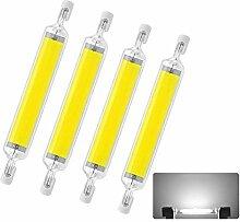 YQA Ampoules LED R7S 10W, Tige Halogène de