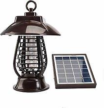 yqs Lampe Moustique Lampe Solaire Anti-Moustique