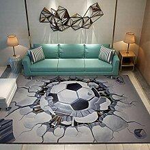 YQZS Tapis de Salon Design Tapis Court Pile