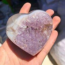 YSJJAXR Cristal Naturel Brut 1pcs Agate améthyste